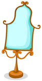 Componga lo specchio illustrazione vettoriale