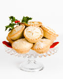 Comport Of Mince Pies Royalty Free Stock Image