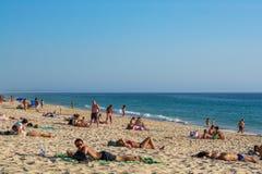 Comporta plaża w Alentejo Portugalia Zdjęcie Stock