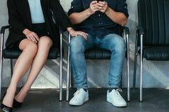 Comportement d'entreprise inadéquat de harcèlement sexuel photos stock