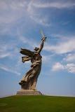 Composé commémoratif à Volgograd photographie stock libre de droits
