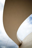 Composé de Cultral de passage couvert de Brasilia Photo libre de droits
