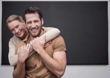 Composé de Digital des couples affectueux Image libre de droits