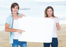 Composé de Digital des couples affectueux Images stock
