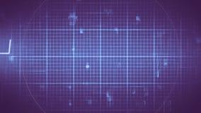 Composé de Digital des formes géométriques digitalement produites illustration stock
