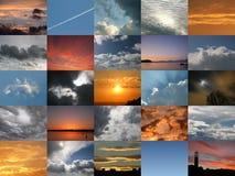 Composé de Digitals avec 25 illustrations différentes de Th Photographie stock