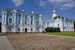 Composé de monastère de Smolny Image stock