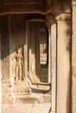Composé de temple d'Angkor Vat Images libres de droits