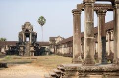 Composé de temple d'Angkor Vat Photo stock