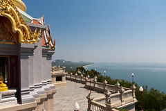 Composé de temple de la Thaïlande photo stock