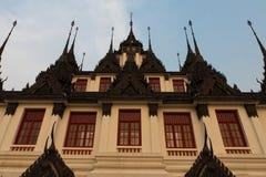 Composé de temple de la Thaïlande image libre de droits