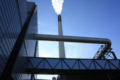 Composé industriel Images stock