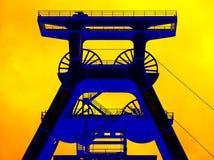 Composé industriel de mine de houille de Zollverein Photos stock