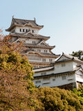 Composé principal de château de Himeji Photographie stock libre de droits