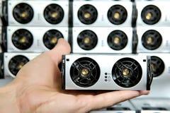 Composant électrique dans l'alimentation d'énergie non interruptible Puissance constante bloc Unité d'approvisionnement d'aliment photographie stock libre de droits