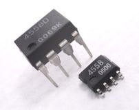 Composant électronique Images stock
