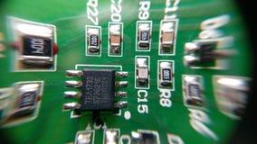 Composant électronique SMD Image stock