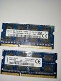 Composant d'ordinateur portable dissambly photographie stock