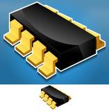 Composant de l'électronique Illustration de Vecteur