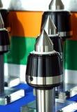 Composant de machine-outil d'acier inoxydable images libres de droits