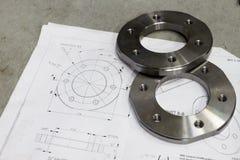 Composant de mesure en métal images libres de droits