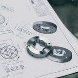 Composant en métal Photographie stock libre de droits