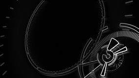 Composant visuel décrit de fond Animation ronde abstraite illustration libre de droits