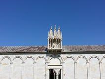 Composante Monumentale i piazzadeien Miracoli Arkivfoto