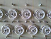 Composants de la machine de broderie Photos libres de droits