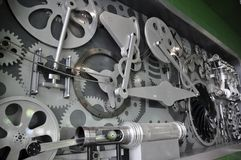 Composants de machine Image stock