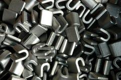 Composants en métal Image stock