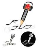 Composer logo symbol Royalty Free Stock Image