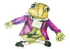 Composer Mozart - a frog Stock Photos
