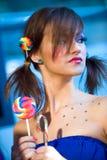 Composez la session sur le cheveu et composez Fest Photos libres de droits