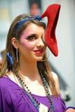 Composez la session sur le cheveu et composez Fest Photo libre de droits