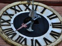 Composez une vieille horloge Image stock