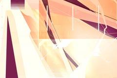 composição 3d abstrata Imagens de Stock