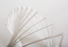 composição 3d de papel abstrata Imagem de Stock