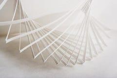 composição 3d de papel abstrata Foto de Stock Royalty Free