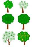 Composição abstrata da árvore Fotos de Stock