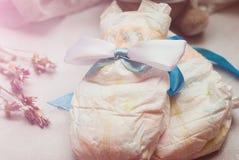 Composição abstrata para o infante recém-nascido Imagens de Stock Royalty Free