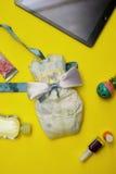 Composição abstrata para o infante recém-nascido Foto de Stock Royalty Free