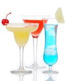 Composição alcoólica popular dos cocktail Foto de Stock Royalty Free