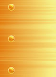 Composição amarela do fundo Foto de Stock
