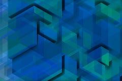 Composição azulada para a parede azul Foto de Stock Royalty Free