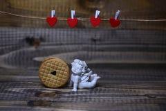 Composição bonita do feriado do Valentim Imagem de Stock Royalty Free