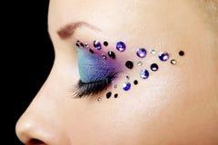 Composição bonita do olho Fotografia de Stock Royalty Free