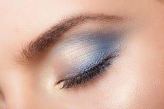 Composição bonita do olho Imagens de Stock