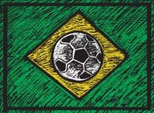 Composição brasileira riscada Imagem de Stock