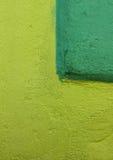Composição colorida com parede Fotos de Stock